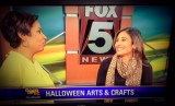 Fox 5 Segment: Halloween Arts & Crafts For Kids